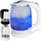 Glas Wasserkocher mit LED 1,7L mit Farbwahl