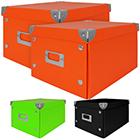 Ablageboxen 2er Pack mit Farbauswahl