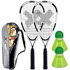 Schläger Set Speed Badminton MJ-500
