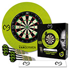 Dart Turnier Set MVG mit Surround grün