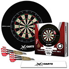 Dart Turnier Set mit Surround Ring
