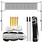 580070 Badminton- und Tennis-Netz 0020