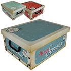 Aufbewahrungsbox Retro - 3 Stück
