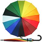 Regenbogen Regenschirm