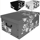 Aufbewahrungsbox Flowers - 3 Stück