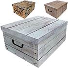 Aufbewahrungsbox Holz - 3 Stück