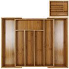 Besteckkasten Bambus ausziehbar