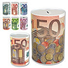 Spardose Euro Design mit Größenauswahl
