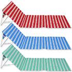 Strandmatte mit Lehne mit Farbauswahl