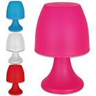 Tischlampe klein mit Farbauswahl