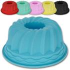 Kuchenform Silikon Gugelhupf mit Farbauswahl