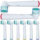 Aufsteckbürsten Zahnbürste 8 Stück
