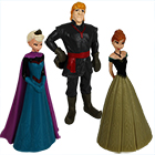 Frozen Figuren 3er Set