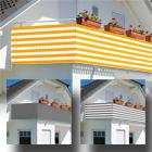 Balkonsichtschutz 600x75cm mit Farbauswahl