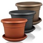 Blumenkübel oder Untersetzer mit Farb- und Größenauswahl