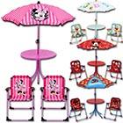 Kindersitzgruppe mit Schirm mit Motivauswahl
