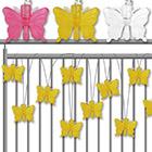 Lichterkette Schmetterling mit Farbauswahl