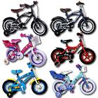 Kinderfahrräder 12 Zoll mit Motivauswahl