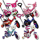 Kinderfahrräder 10 Zoll mit Lenkstange und Modellauswahl