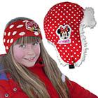 Fellmütze oder Stirnband Minnie Mouse