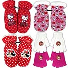 Handschuhe Hello Kitty oder Minnie Mouse