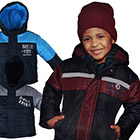 Winterjacke Kinder mit Modellauswahl