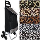 Einkaufswagen Dreirad Leopard mit Motivauswahl