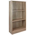 Bücherschrank 3 Fächer Holz