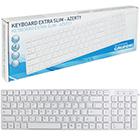 Grundig USB-Tastatur flach weiß
