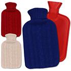Wärmflasche mit Bezug 2L mit Farbauswahl