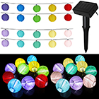 Solar Lampion Lichterkette mit Farbwahl