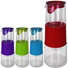 Glaskaraffe 1L mit Farbauswahl