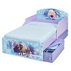 Kinderbett Holz mit Schubladen Frozen