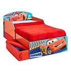 Kinderbett Holz mit Schubladen Cars