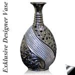 Exklusive Designer Vase 36 cm