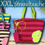 Strandtasche mit Etui - Farbauswahl