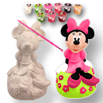 Disney Minnie Mouse Paint Your Own Figure