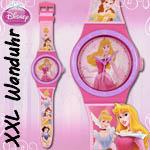 Armbanduhr Wanduhr princess Dornröschen