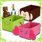 Spielzeugbox klein mit Motivauswahl