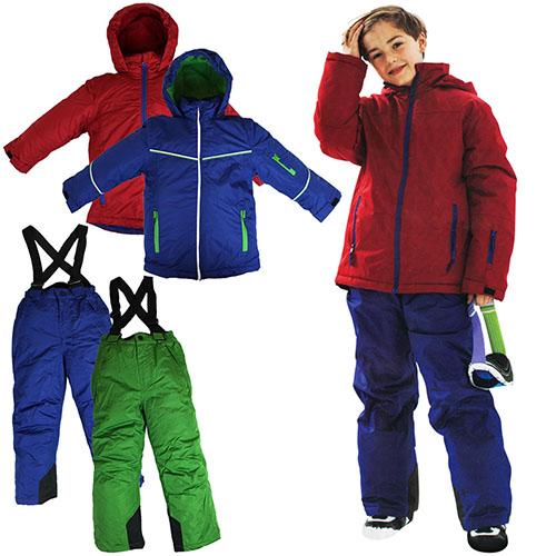 Skianzug Jungen mit Modellauswahl