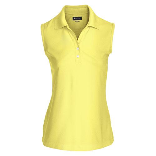 Damen Poloshirt Polo Shirt Polohemd Hemd Top Sport Kleidung Ärmellos XS-XXL