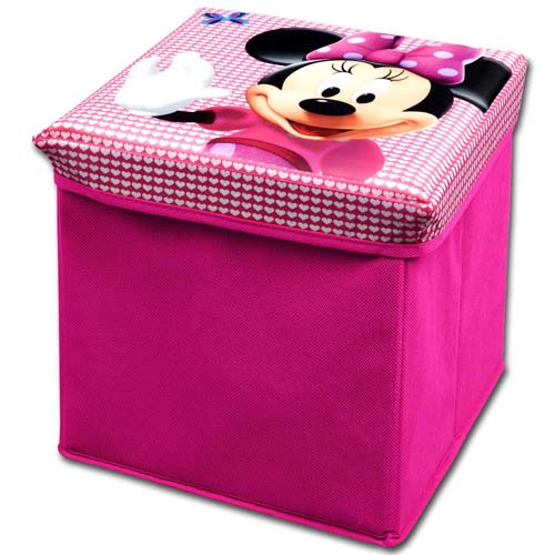 disney kinder hocker truhe spielzeugkiste spielzeugbox aufbewahrungsbox sitz box ebay. Black Bedroom Furniture Sets. Home Design Ideas