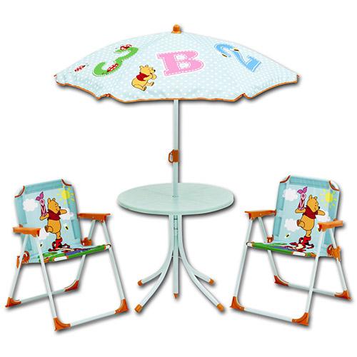 Camping klappstuhl mit tisch  Disney Campingstuhl Tisch Sitzgruppe Sonnenschirm Kinder ...