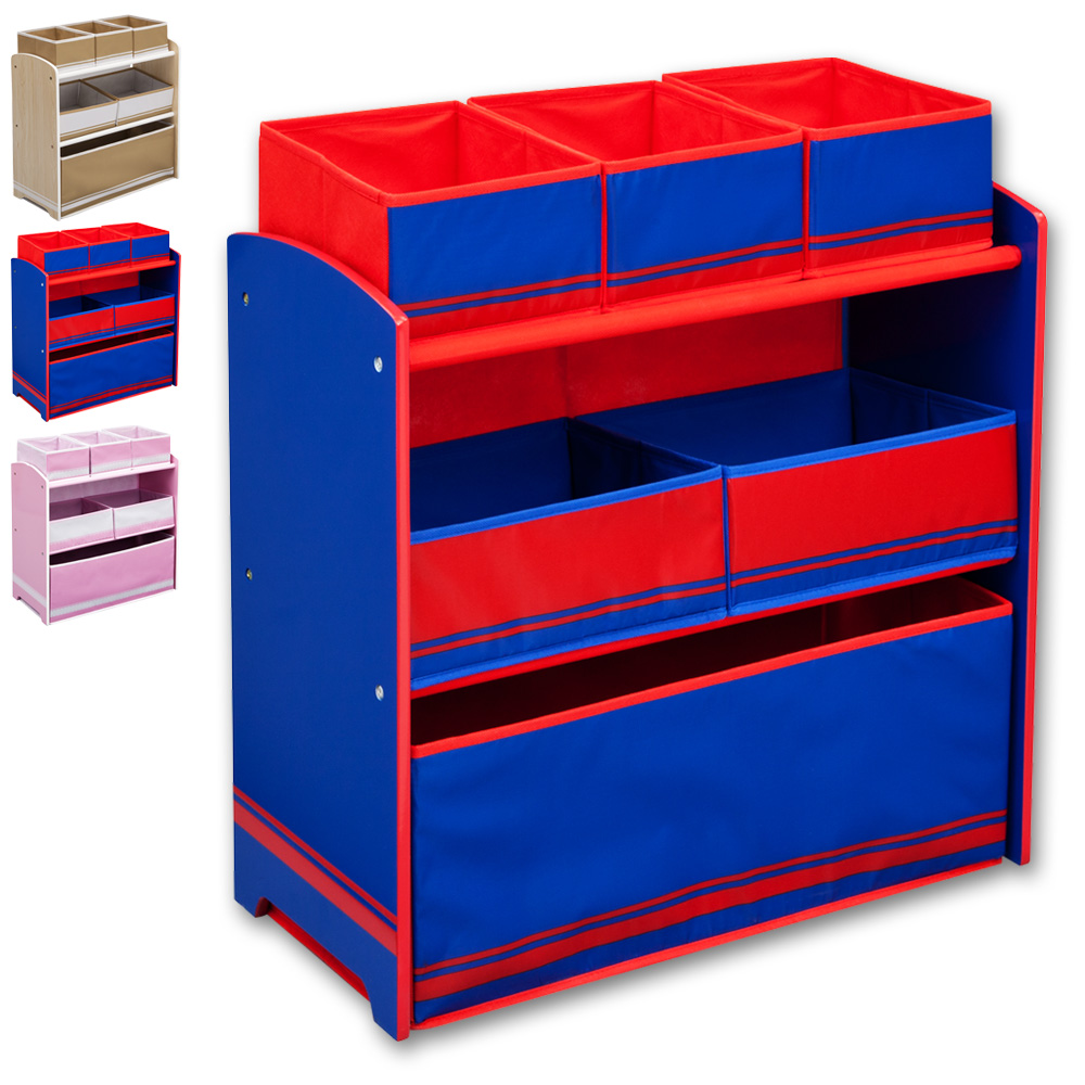 spielzeugkiste aufbewahrungsregal kinderm bel kinderregal regal aufbewahrung box ebay. Black Bedroom Furniture Sets. Home Design Ideas