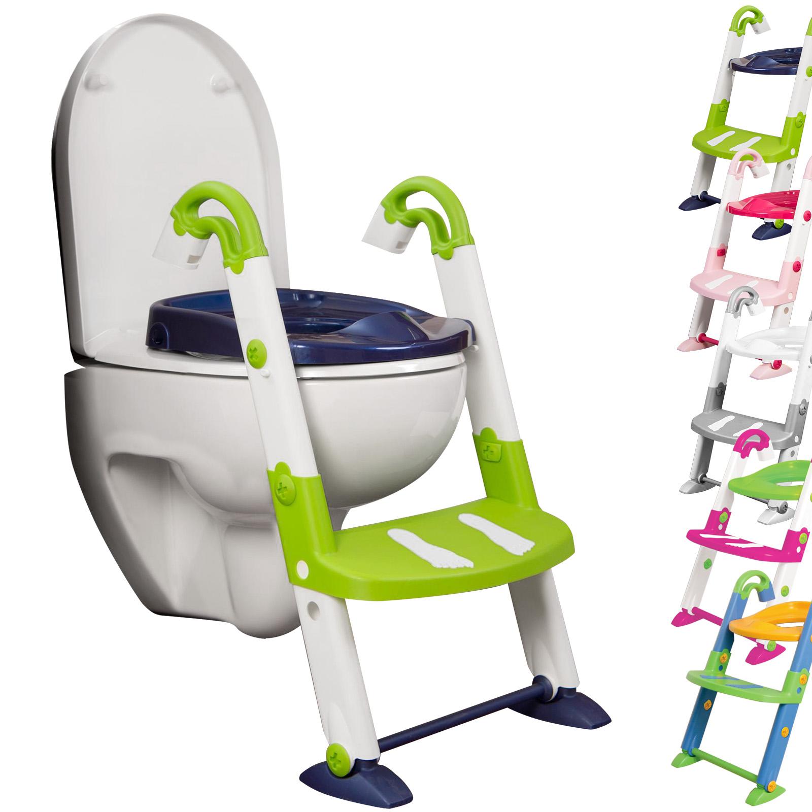 kidskit 3in1 toilettentrainer kinder wc sitz toilettensitz lernt pfchen t pfchen ebay. Black Bedroom Furniture Sets. Home Design Ideas