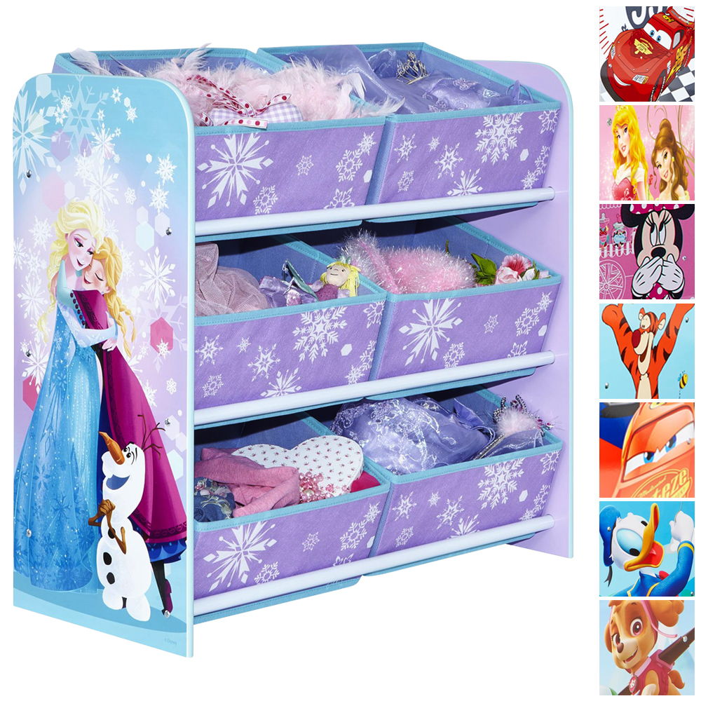disney kinderregal regal aufbewahrung spielzeugkiste. Black Bedroom Furniture Sets. Home Design Ideas