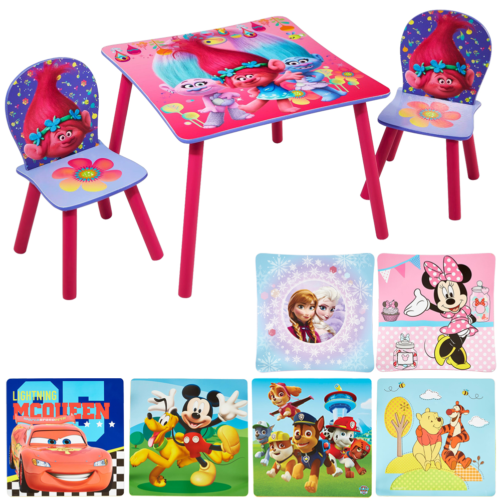 kindersitzgruppe sitzgruppe kinder disney kinderst hle kindertisch kinderm bel ebay. Black Bedroom Furniture Sets. Home Design Ideas