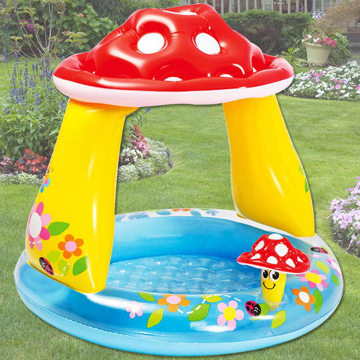 Intex babypool mit dach kinderpool pool schwimmingpool - Kinderpool mit dach ...