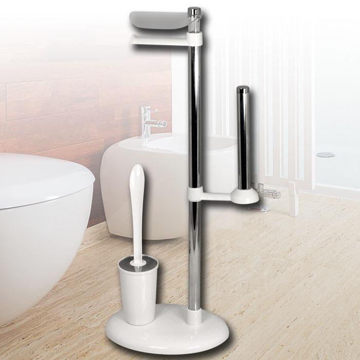 toilettenpapierhalter b rstenhalter wc garnitur rollenhalter b rstengarnitur neu ebay. Black Bedroom Furniture Sets. Home Design Ideas