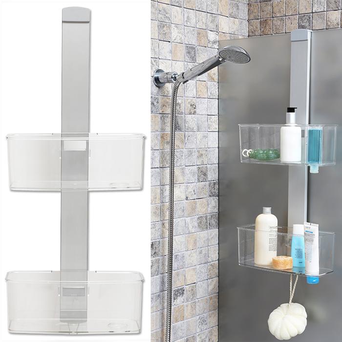 Badezimmer Regal Hängend: Luxus Duschhängeregal Wandregal Regal Dusche Ablage Bad